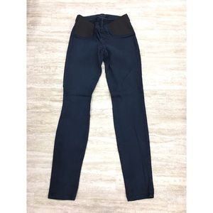 New J Brand Maternity Dark Blue Jeans Size: 27